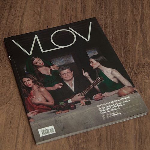 Cover of the VLOV Magazine #4